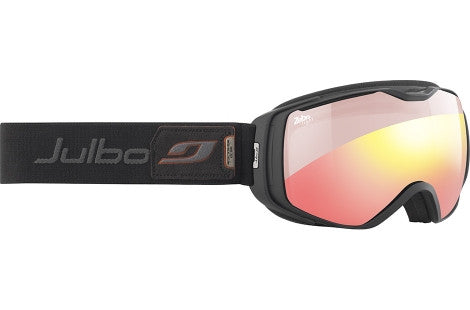 Julbo - Universe Black Goggles, Zebra Light Red Lenses