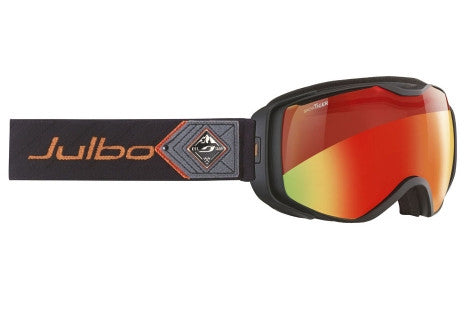 Julbo - Universe Black / Red Goggles, Snow Tiger Lenses