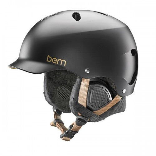 Bern - Lenox EPS Satin Black Snow Helmet