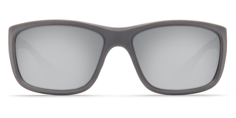 Costa - Tasman Sea Matte Gray Sunglasses / Copper Silver Polarized Glass Lenses