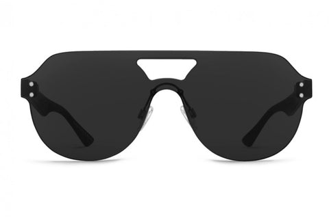VonZipper - Alt Psychwig Black Gloss Sunglasses / Grey Lenses