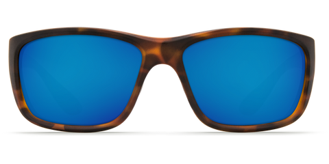 Costa - Tasman Sea Matte Retro Tortoise Sunglasses / Blue Polarized Plastic Lenses