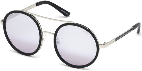 Marciano - GM0780 Black Sunglasses / Smoke Mirror Lenses