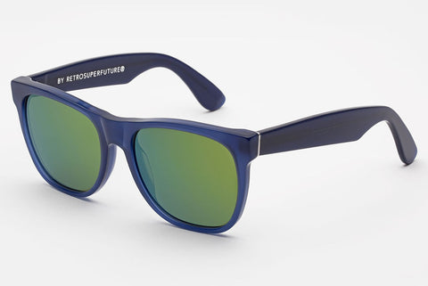 Super - Classic Deep Blue Sunglasses