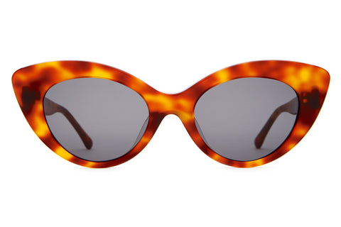 Crap Eyewear - Wild Gift Havana Tortoise Sunglasses / Grey Lenses