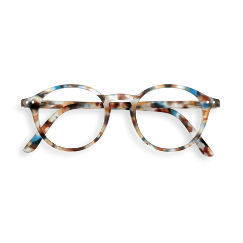 Izipizi - #D  Blue Tortoise Eyeglasses / Screen Blue Light Clear Lenses