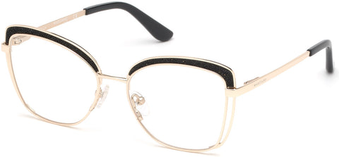 Marciano - GM0344 Gold Eyeglasses / Demo Lenses
