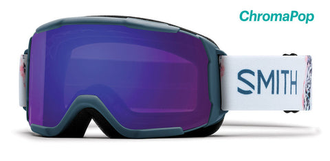 Smith - Showcase OTG Asian Fit Thunder Composite Snow Goggles / ChromaPop Everyday Violet Mirror Lenses