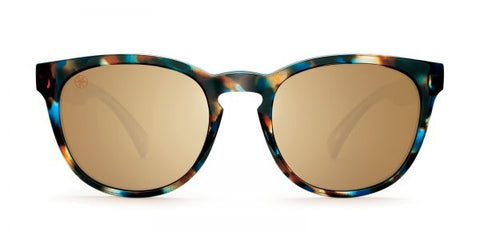 Kaenon - Strand Brown Opal Sunglasses / B12 Brown Gold Mirror Lenses