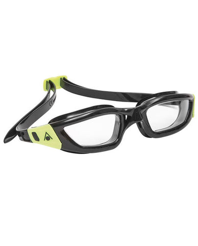 Aqua Sphere - Kameleon Black Lime Accents Swim Goggles / Clear Lenses