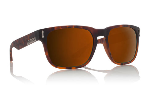Dragon - Monarch Matte Tortoise Sunglasses / Bronze Lenses