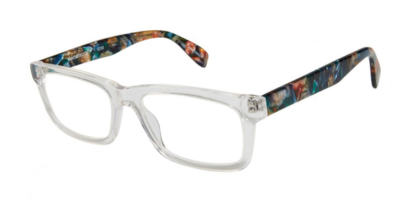 Scojo New York - Vanderbilt Street Crystal Mosaic Reader Eyeglasses / +3.00 Lenses