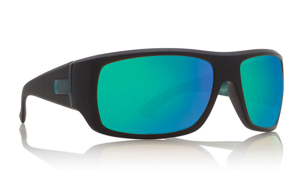 Dragon - Vantage Matte Black Clark Little / Green Ion Performance Polar Sunglasses