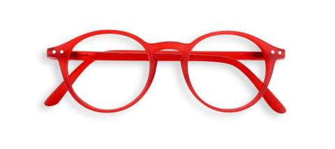 Izipizi - #D Red Crystal Reader Eyeglasses / +1.00 Lenses