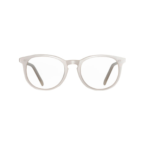 Spektre - Brent White Sunglasses / Clear Lenses