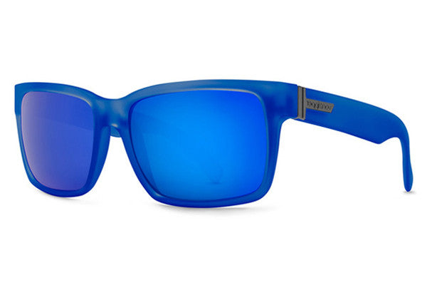 Von Zipper - Elmore Brainblast Blue SGE Sunglasses, Blue Metallic Lenses