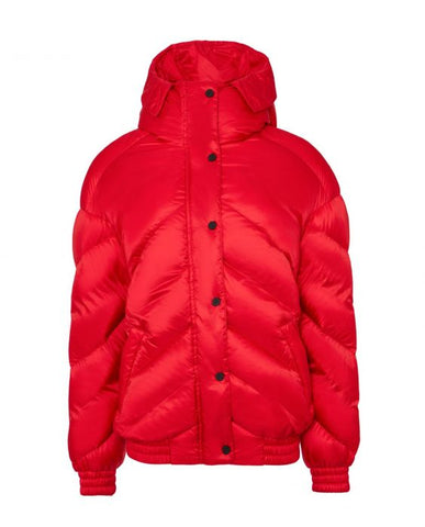 Perfect Moment - Women's Over size Red Bomber Jacket