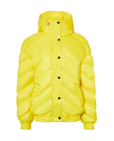Perfect Moment - Women's Over size Yellow Bomber Jacket