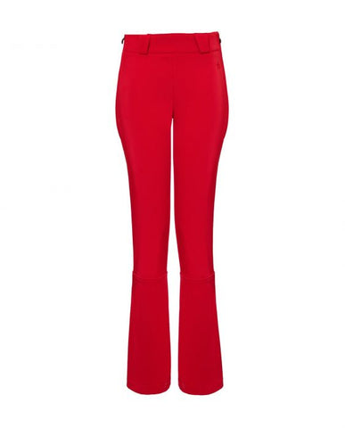 Perfect Moment - Women's High Waited Flared Ancelle Red Ski Pants