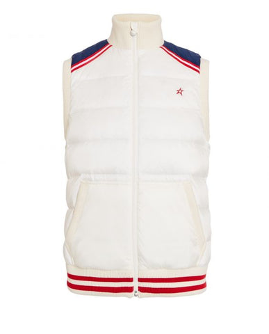 Perfect Moment - Men's Latitude Snow White Navy Red Gilet