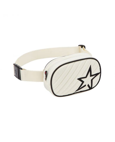 Perfect Moment - Unisex Star Print Snow White  Bum Bag /  Lenses