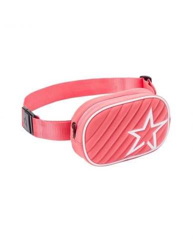 Perfect Moment - Unisex Star Print Pure Pink  Bum Bag /  Lenses