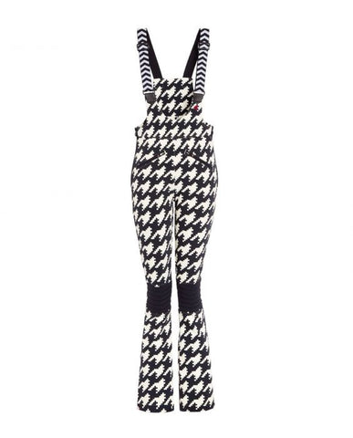 Perfect Moment - Women's Isola Printed Black Houndstooth Racing Pants