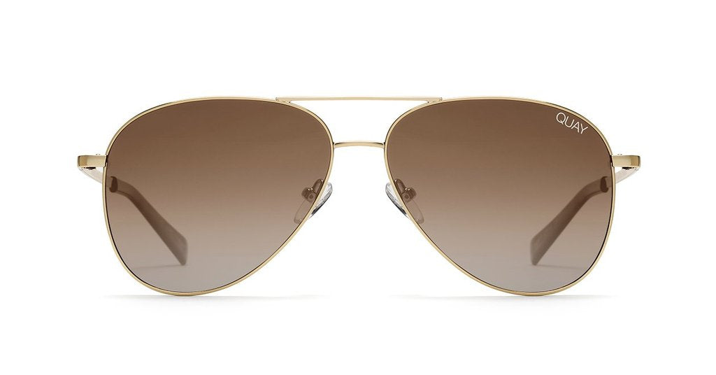 770124aa817 Quay Still Standing Gold Sunglasses   Smoke Taupe Lenses – New York ...