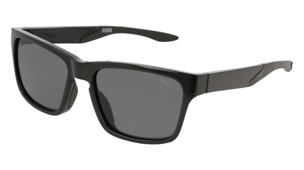 Puma - PU0169S Black Sunglasses / Grey Lenses