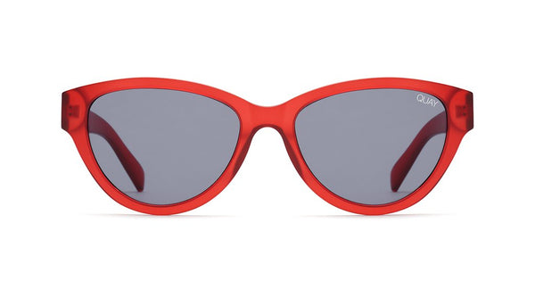 dc5dd4ee9a2 Quay Rizzo Red Sunglasses   Smoke Lenses – New York Glass