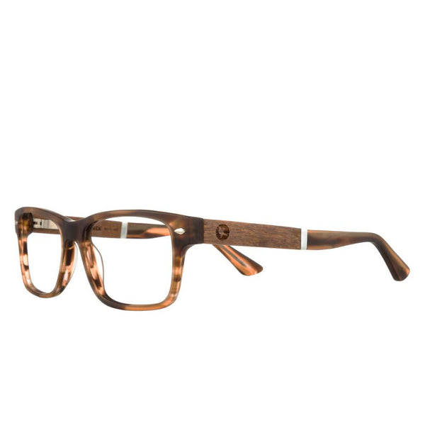 Proof - Warren Eco Rx Matte Brown  Eyeglasses / Demo Lenses