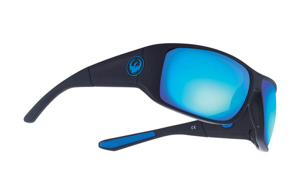 Dragon - WatermanX Matte Black / Blue Ion Performance Polar Sunglasses
