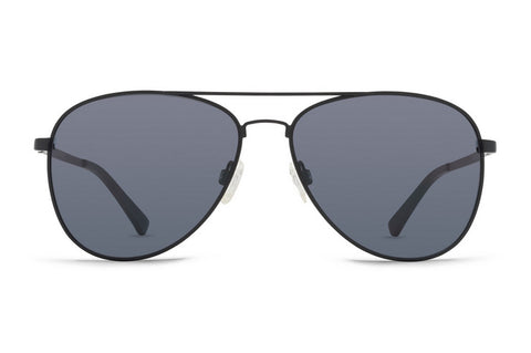 VonZipper - Farva Black Satin Sunglasses / Grey Lenses