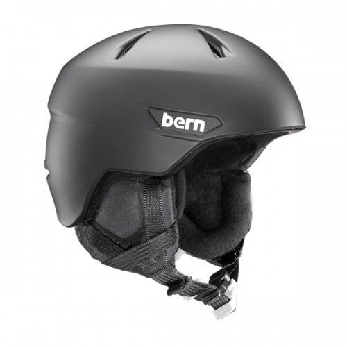 Bern - Weston Matte Black Snow Helmet