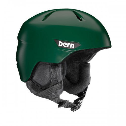 Bern - Weston Satin Hunter Green Snow Helmet
