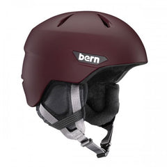Bern - Weston Matte Oxblood Snow Helmet