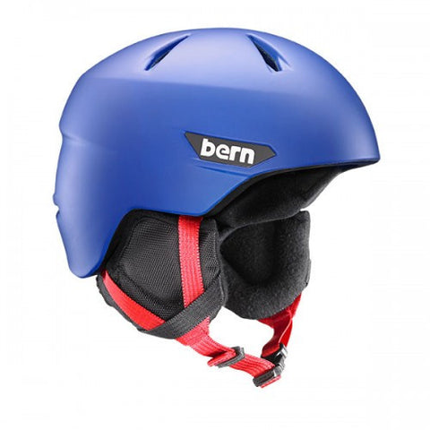 Bern - Weston JR Matte Cobalt Blue Snow Helmet