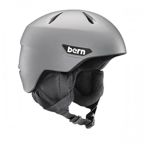 Bern - Weston JR Matte Grey Snow Helmet