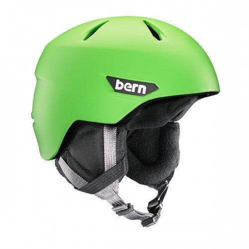 Bern - Weston JR Matte Neon Green Snow Helmet