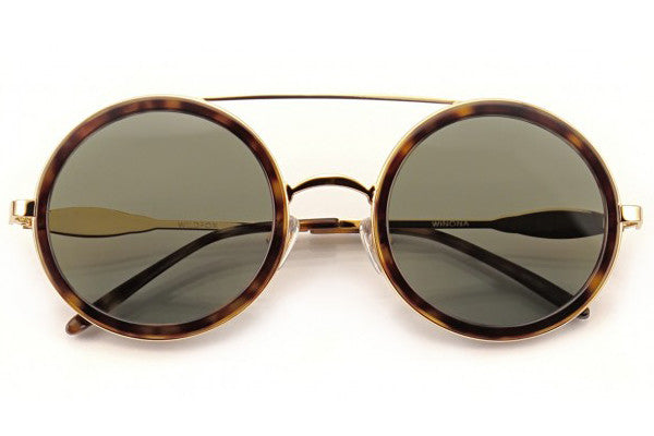 Wildfox - Winona Gold & Tortoise Sunglasses