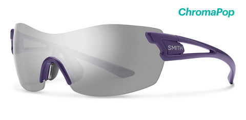 Smith - Pivlock Asana Violet Sunglasses / ChromaPop Platinum Lenses