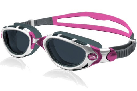 Zoggs Women's Predator Flex Polarized Purple Swim Goggles