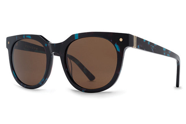 VonZipper - Wooster Tort Satin NTB Sunglasses,  Brown Lenses