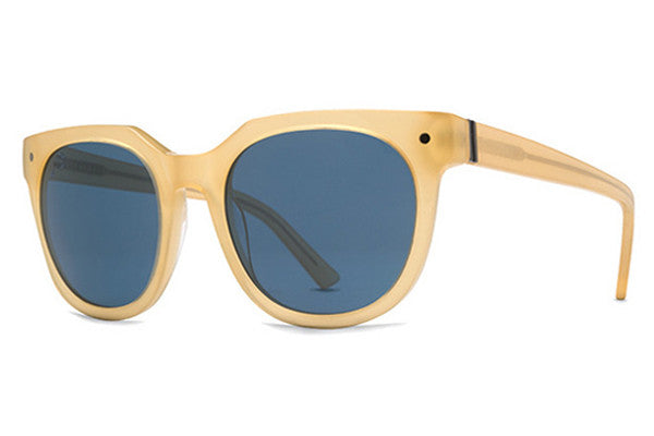 VonZipper - Wooster Yellow Trans YNG Sunglasses,  Navy Lenses