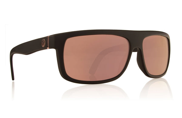 Dragon - Wormser Matte Black / Rose Gold Sunglasses