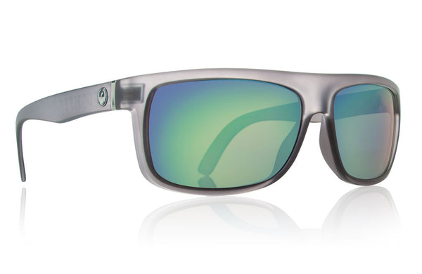 Dragon - Wormser Matte Grey / Green Ion Sunglasses