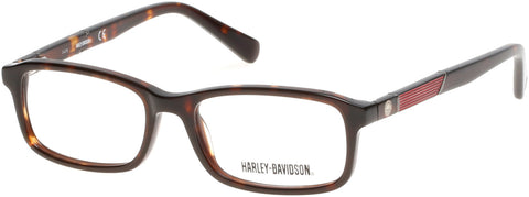 Harley-Davidson - HD0129T Dark Havana Eyeglasses / Demo Lenses
