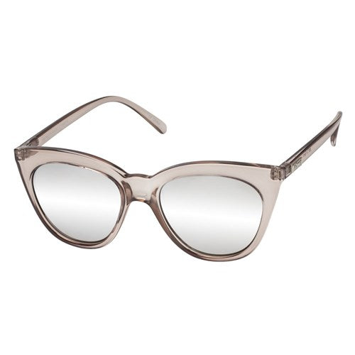 Le Specs - Halfmoon Magic Stone Sunglasses / Silver  Lenses