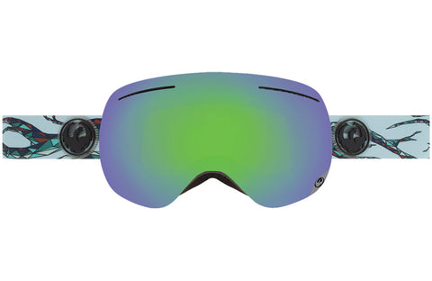 Dragon - X1 Form / Green Ion + Yellow Blue Ion Goggles