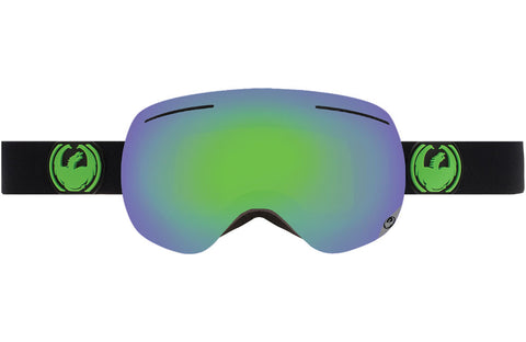 Dragon - X1 Jet / Green Ion + Yellow Blue Ion Goggles